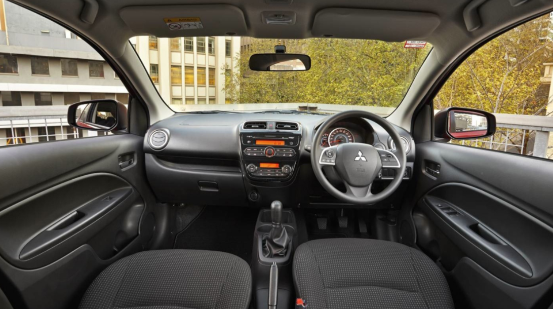 2022 Mitsubishi Mirage Interior